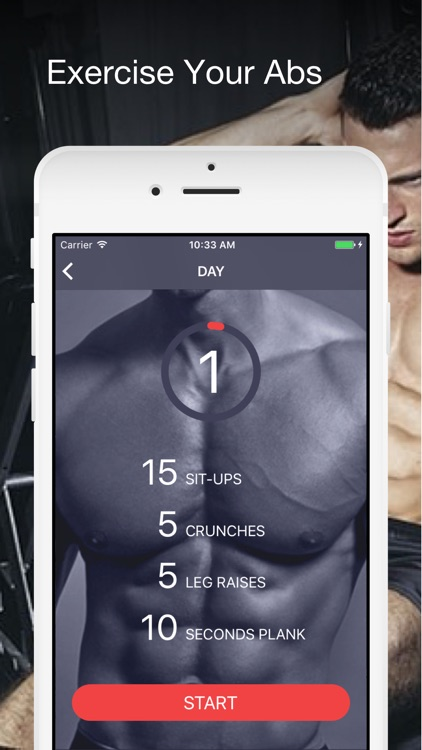 Six pack abs within 30 days - home sixpack workout screenshot-0