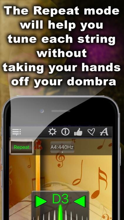 Dombra Chromatic Tuner screenshot-3