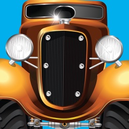 Classic Cars Animated Stickers