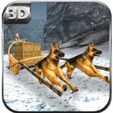 Activities of Uphill Dog Sledding Transport & Cargo Delivery Sim