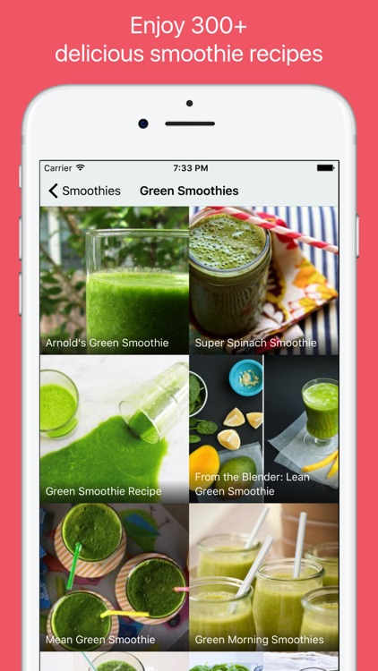 Smoothie Recipes - Healthy and Detox drinks screenshot-1