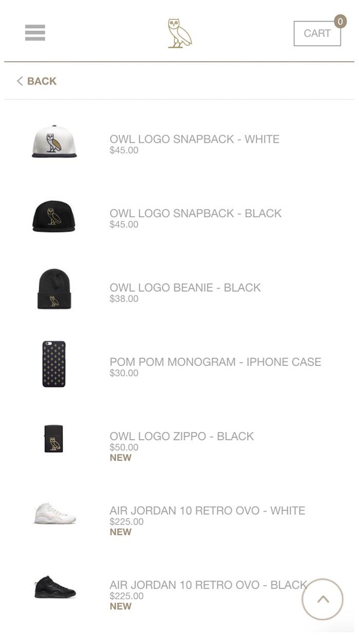OVO Store Screenshot