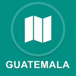 Guatemala : Offline GPS Navigation