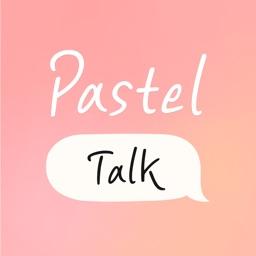 Pastel talk - 60 bubble & emoji stickers
