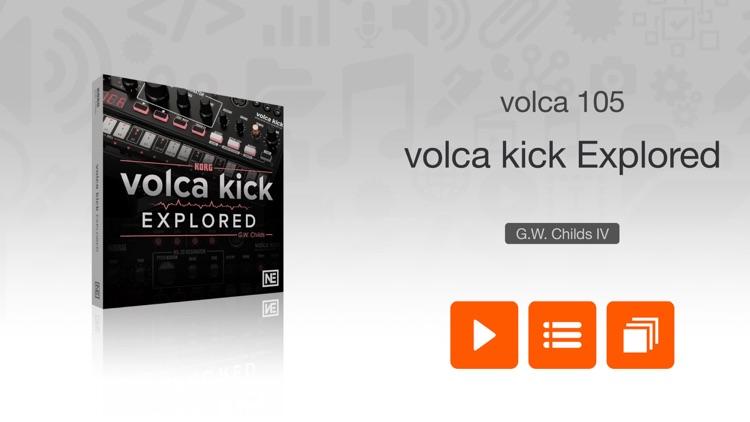 Exploring volca kick