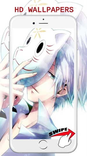 Anime Cute Boy Wallpapers Cool Backgrounds Free On The App Store