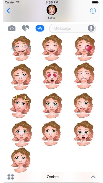 Ombre Emoji Set GeeMoji