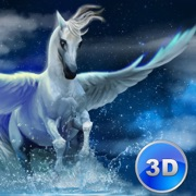 Flying Pegasus: Magic Horse Simulator 3D