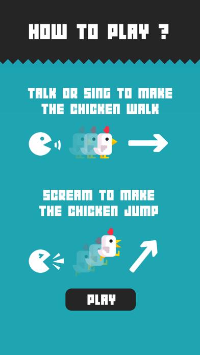 Chicken Scream iPhone