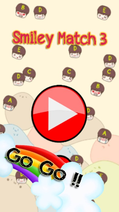 Smiley Match 3 Puzzle Game Screenshot