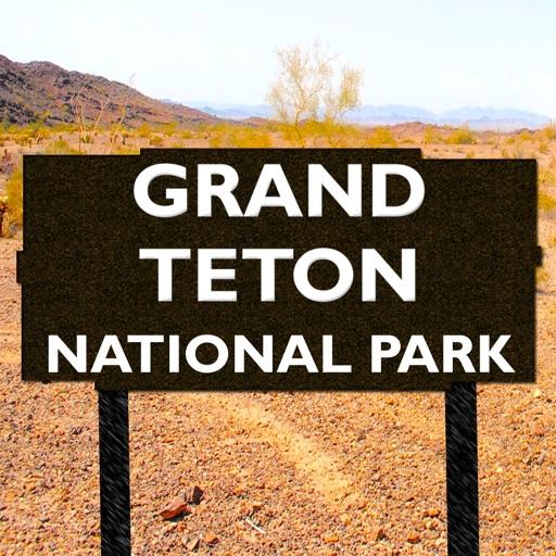 Grand Teton National Park Map, Wyoming