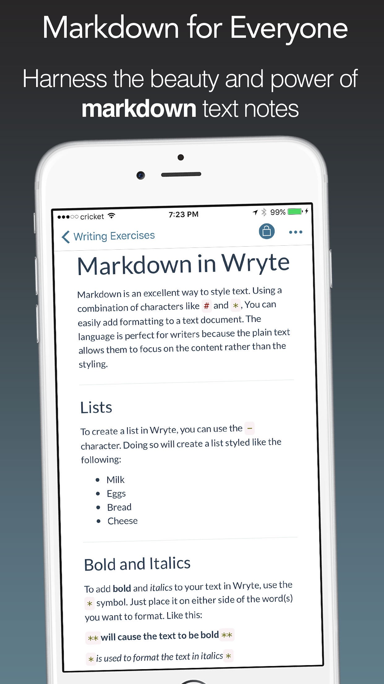 Wright - Markdown for the Masses Screenshot