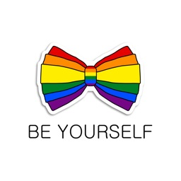 Be Yourself - LGBT Pride Emoji Stickers