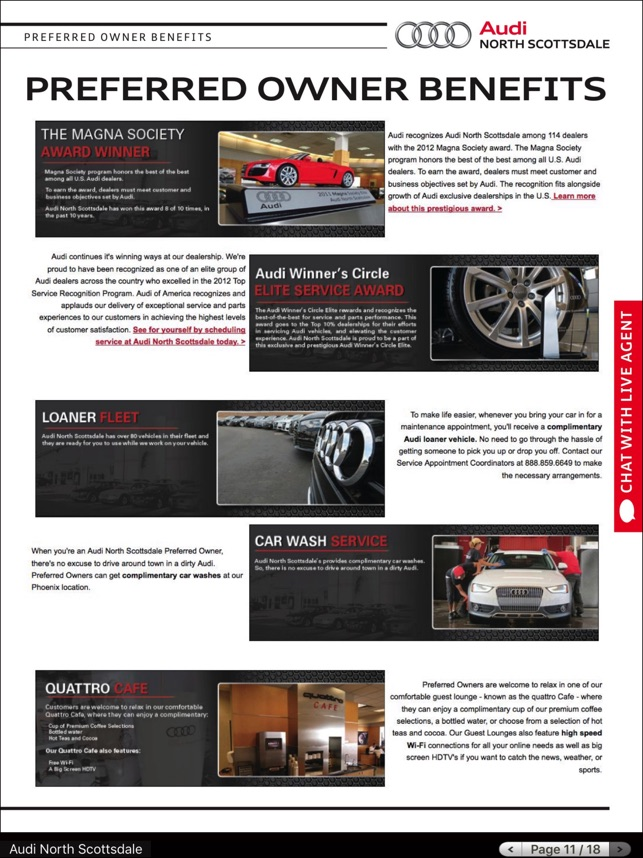 Audi North Scottsdale On The App Store - Audi north scottsdale service