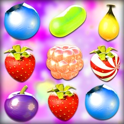 Berry Match 3 Deluxe Puzzle Fruits Game