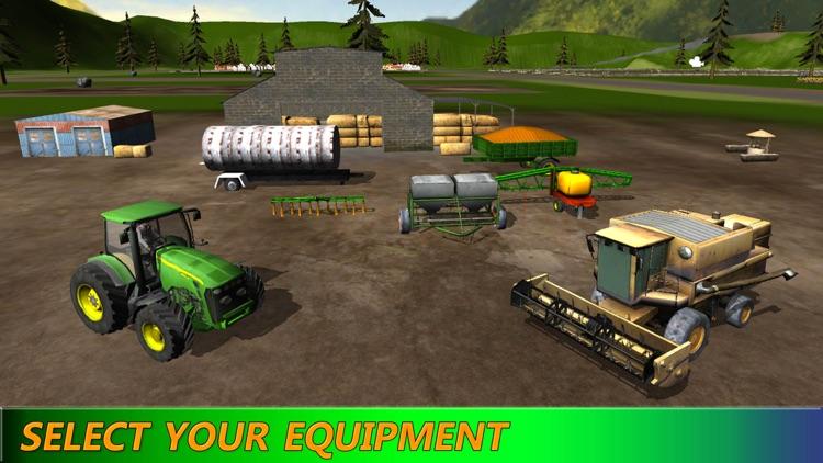 Diesel Farm Tractor: Driving Simulation HD screenshot-4