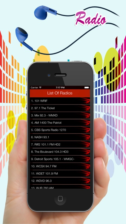 Detroit Radios - Top Stations Music Player FM AM