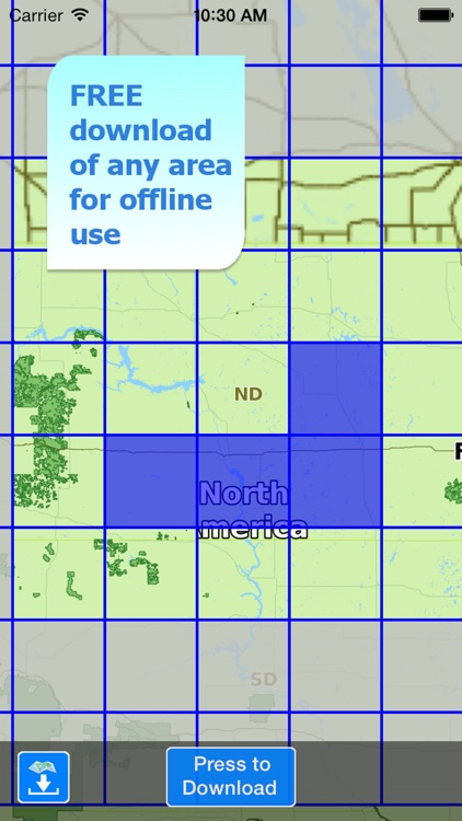 Aqua Map North Dakota ND Lakes - Nautical Charts screenshot-4