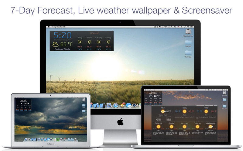 living weather wallpapers hd macgenius