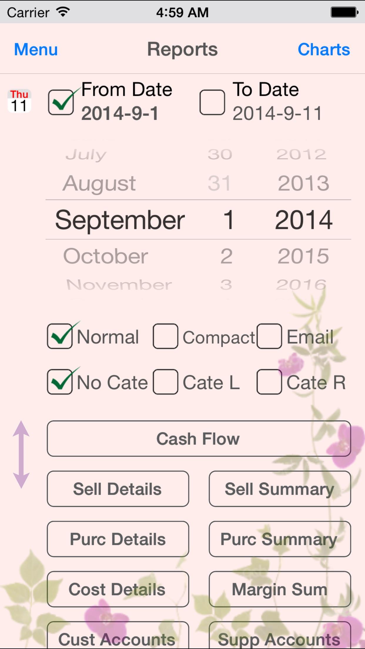 iBiz Tool - Manage sales, purchase & inventory Screenshot