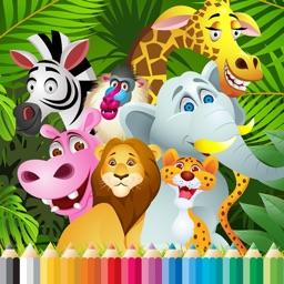 Total Animals Coloring Book - for Kid