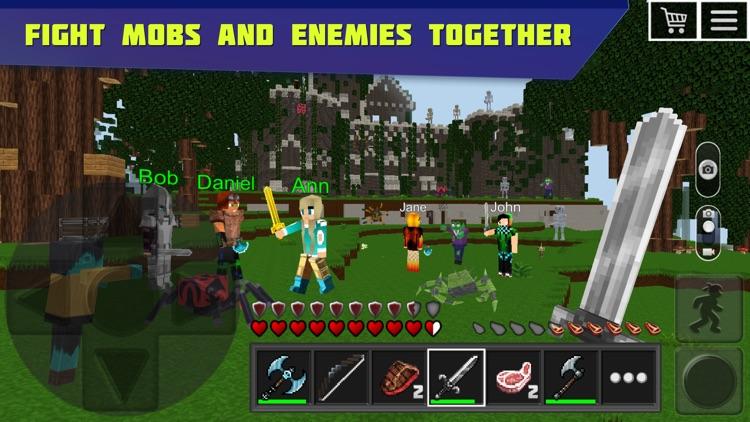 Planet of Cubes Survival Games screenshot-4