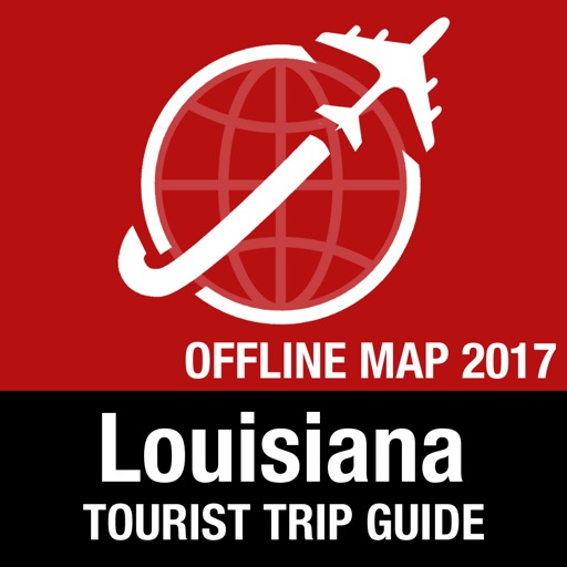 Louisiana Tourist Guide + Offline Map