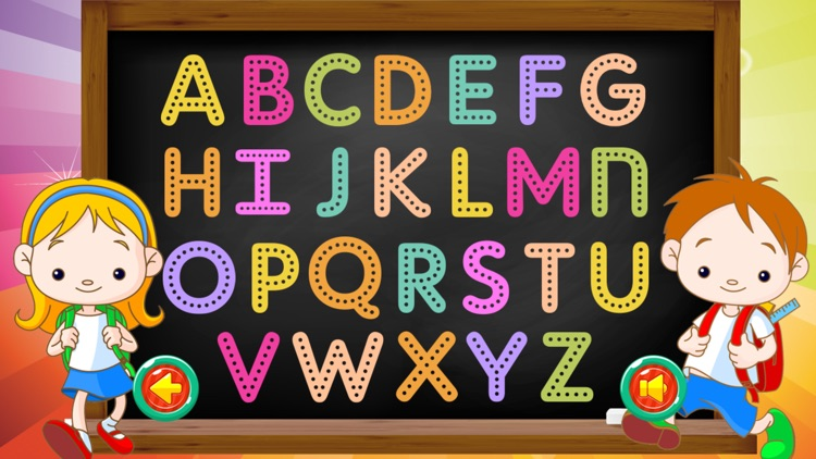 Learning ABC Tracing Flashcards Phonic for Kids