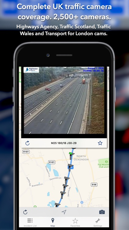 UK Roads - Traffic News & Cameras screenshot-1