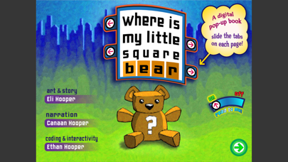 Where Is My Little Square Bear?