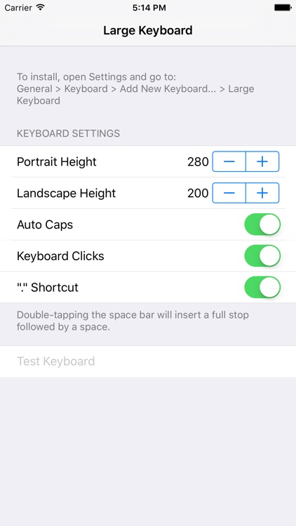 Larger Keyboard – Type Faster w Bigger XL Keys screenshot-3