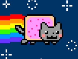 Nyan Cat Animated Stickers are here