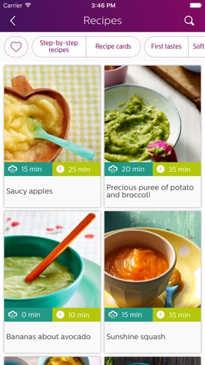 Philips easy weaning on the app store forumfinder Choice Image