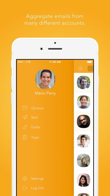 Oonbox - Ultimate Email Inbox screenshot-3