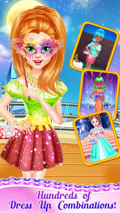 Prom Salon - Prom Dresses Dress Up Games for Girls by Gamedictive
