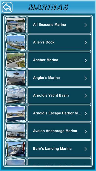 New Jersey State Marinas screenshot three