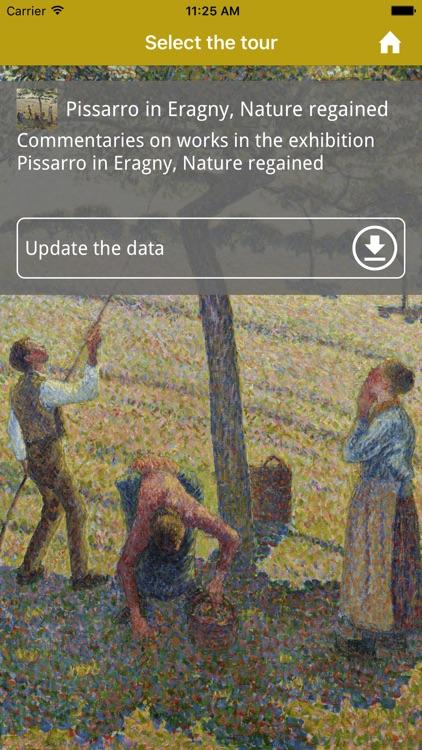 Pissarro in Eragny, Nature regained