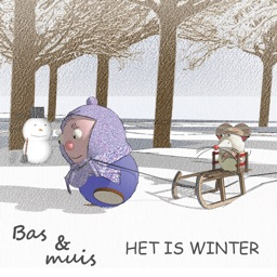 Bas en muis, Het is winter