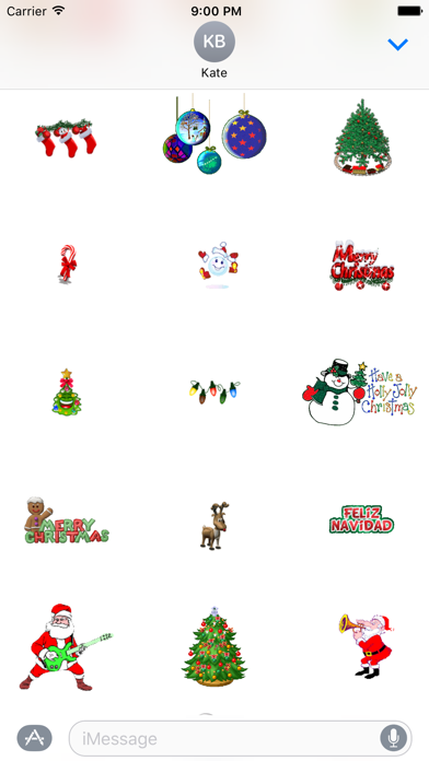 Animated Christmas Stickers for iMessageScreenshot of 5