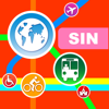 Singapore City Maps - Discover SIN with MRT,Guides