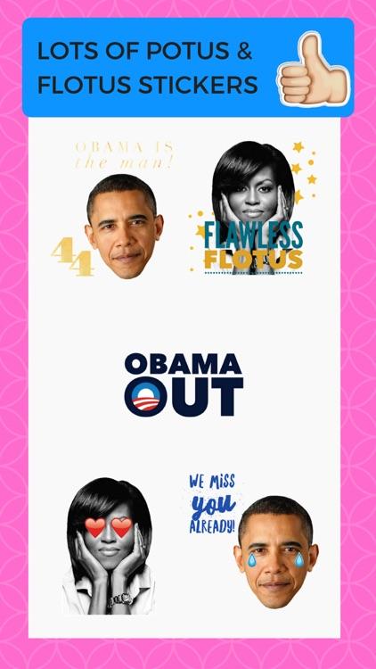 Thanks Obama Sticker Pack Barack Obama