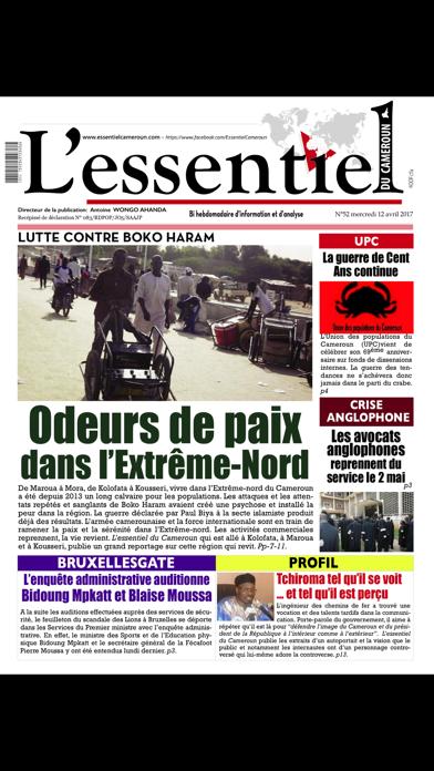 L'esssentiel du Cameroun screenshot 1