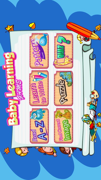 Baby learning educational games screenshot one