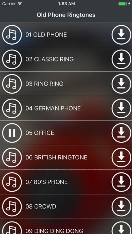 Old Phone Ringtones & Alarms - FREE retro sounds!!