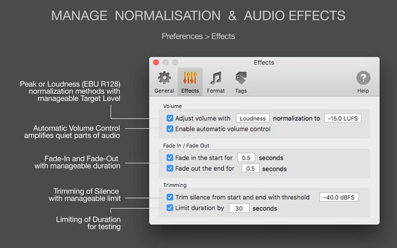 MP3 Normalizer Screenshot