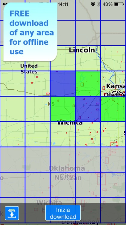 Aqua Map Kansas KS Lakes HD - GPS Nautical Charts screenshot-4