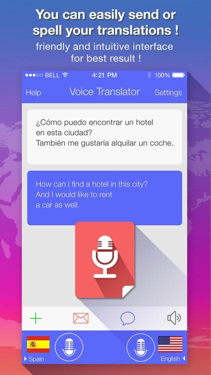 Voice Translate + translator screenshot-3