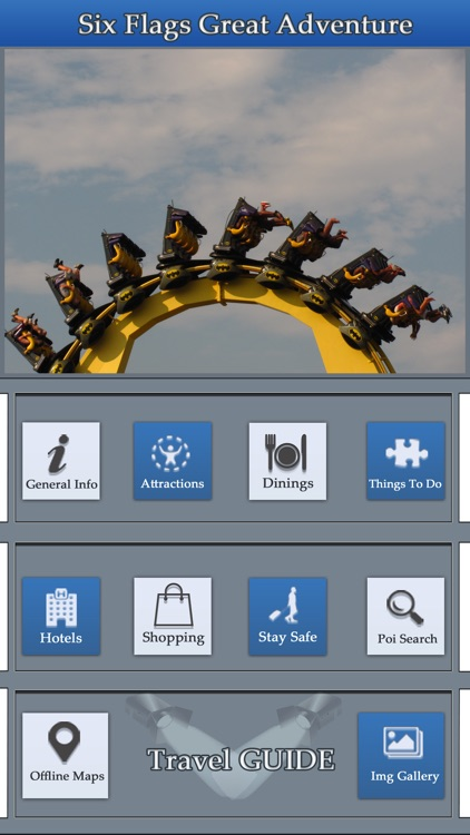 The Great App For Six Flags Great Adventure Guide