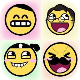 Emoji Emoticons - Smiley Face Emoji Sticker