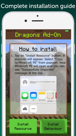 Dragons Add-On for Minecraft PE: MCPE on the App Store